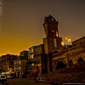 Tortoreto Alto  by Stefano Uberti - City,  Street & Park  Historic Districts