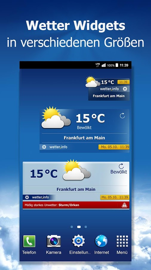 wetter.info Screenshot 5