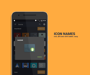 Material Cards icons- screenshot thumbnail