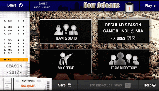 New Basketball Coach - screenshot