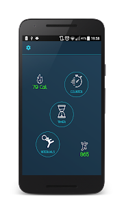 Jump Rope Counter + Calories Fitness app screenshot 1 for Android