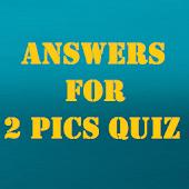 Answers for 2 Pics Quiz APK for Lenovo