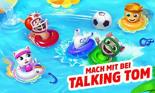 Talking Tom Pool Screenshot