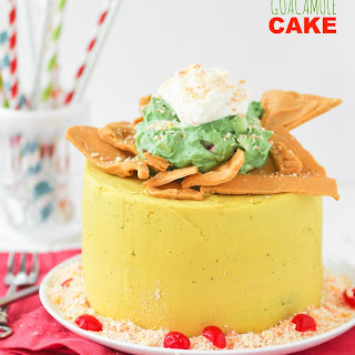 Chips and Guacamole Cake