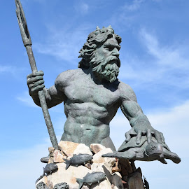 Neptune by Ada Irizarry-Montalvo - Buildings & Architecture Statues & Monuments