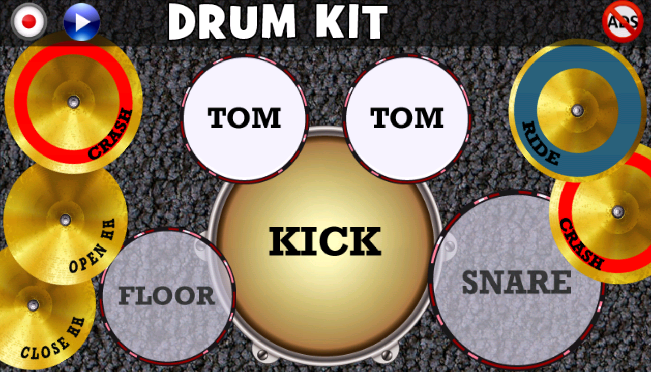 Drum Kit(No Ads) Screenshot 3