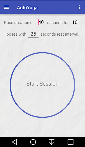 AutoYoga Yoga Timer - screenshot