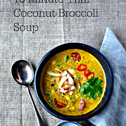 Thai Coconut-Broccoli Soup