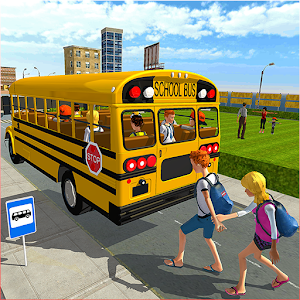 Modern City School Bus Simulator 2017 For PC (Windows & MAC)