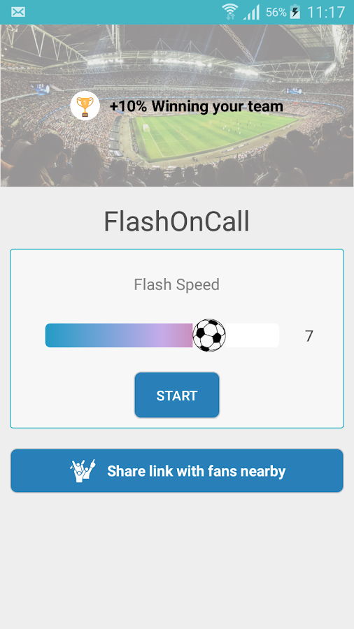 FlashOnCall + Screenshot 2
