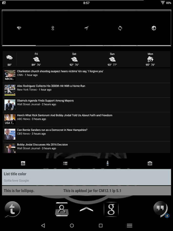 Berzerker CM12-13 Theme Screenshot 10