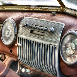 Vintage Dashboard by John Hoey - Transportation Automobiles