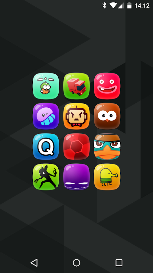 Candy - icon pack Screenshot 0