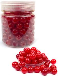 Гидрогелевые шарики L, в банке, красные