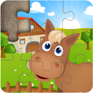 Farm Jigsaw Puzzles for Kids