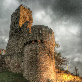 Wachtenburg Germany by Amarendra Ukidwe - Buildings & Architecture Public & Historical ( wachtenburg, wachenheim, castle, germany, architecture,  )