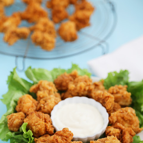 Crispy Buttermilk Popcorn Chicken