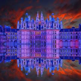 Splendeurs de Chambord by Gérard CHATENET - Digital Art Places