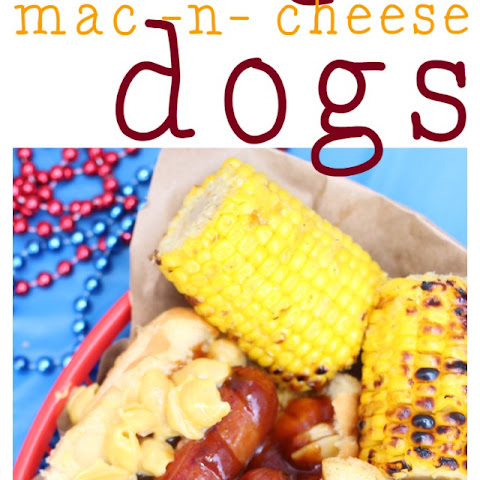 Barbecue Mac & Cheese Dogs!