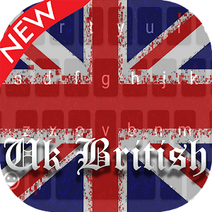 Download Uk British Keyboard Theme PRO for PC - Free Personalization App for PC