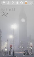 Screenshot of Sentimental City Theme