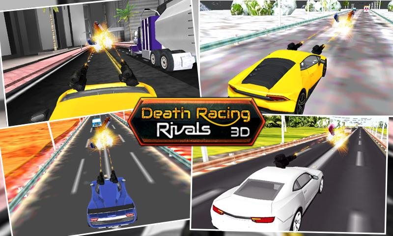 Death Racing Rivals 3D Screenshot 1