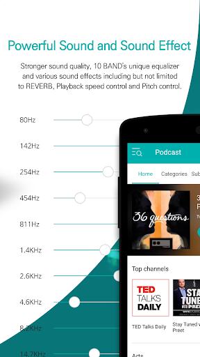 GOM Audio - Music, Sync lyrics, Podcast, Streaming screenshot 4
