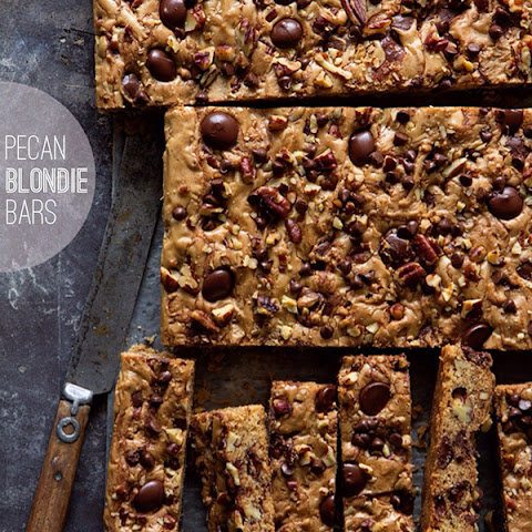 Pecan Blondie Bar Dunker