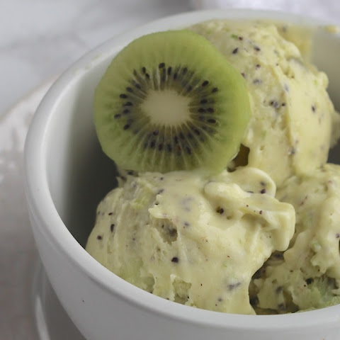 Instant Kiwi Coconut Sorbet infused with Lime & Lemongrass