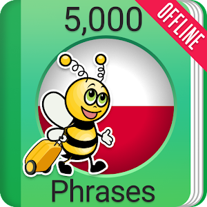 Learn Polish Phrasebook - 5000 Phrases