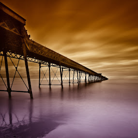 What If by CLINT HUDSON - Landscapes Travel ( fantasy, iron pier, victorian, pier, queens pier, seascape )