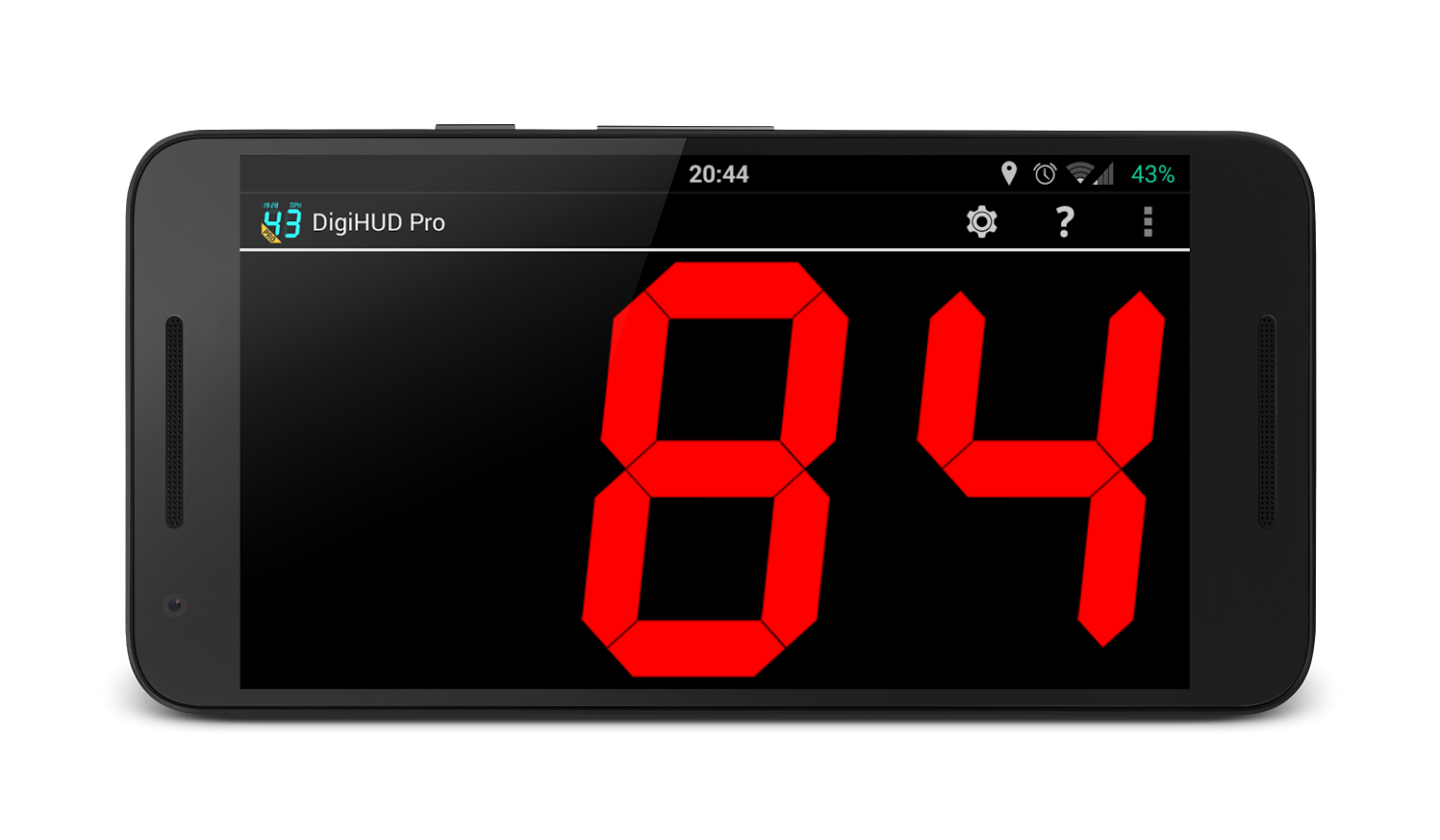 DigiHUD Pro Speedometer Screenshot 1