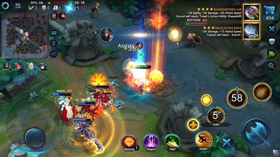 Heroes Evolved apk screenshot