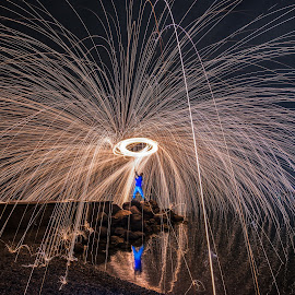 Spinning steel wool by Bobby Photography's - Abstract Fire & Fireworks