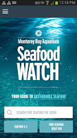 Screenshot of Seafood Watch