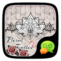 FREE-GOSMS FLORAL TATTOO THEME For PC (Windows And Mac)