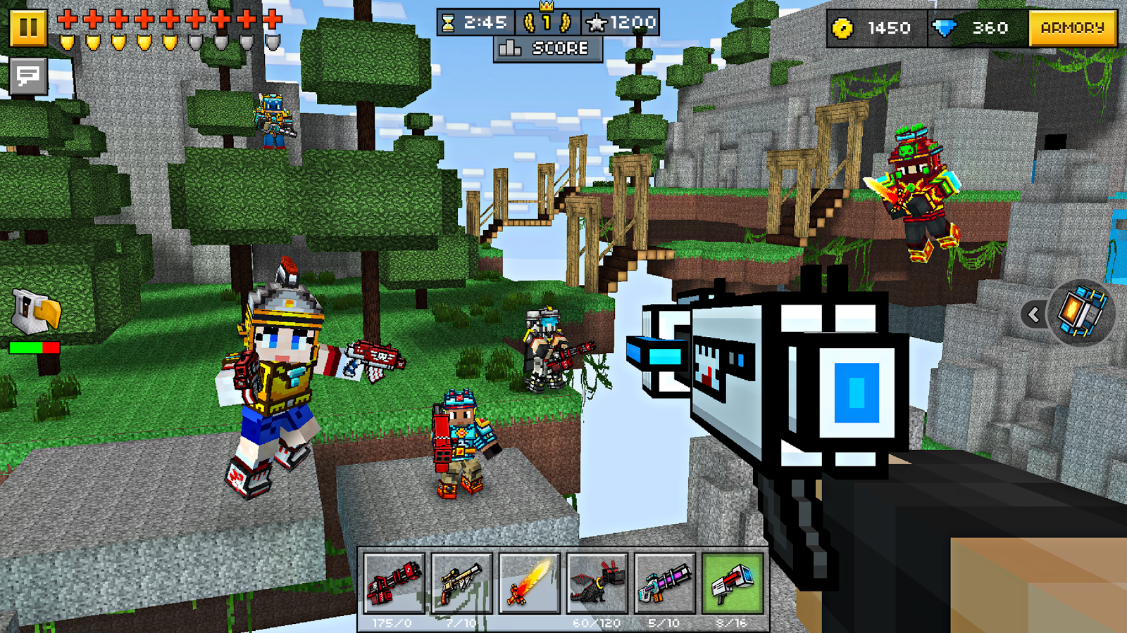 Pixel Gun 3D (Pocket Edition) Screenshot 0