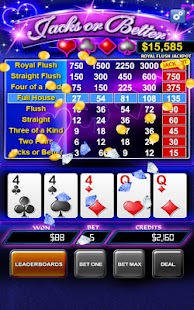 Video Poker - Jacks or Better - screenshot