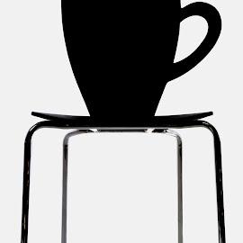Cup Chair by Tomasz Budziak - Artistic Objects Furniture ( chair, artistic objects, furniture,  )