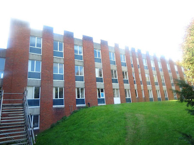 Pre-demolition asbestos survey of a halls of residence