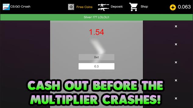 Crash Simulator - CSGO Betting APK 2.1 - Free Casino Apps for Android