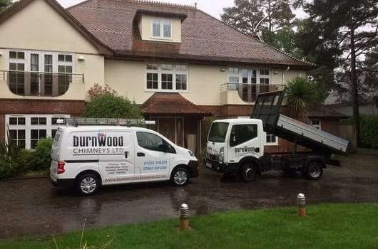 Burnwood Chimneys vehicles
