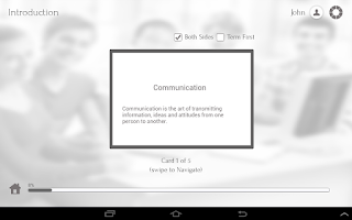 Screenshot of Learn Communication Skills