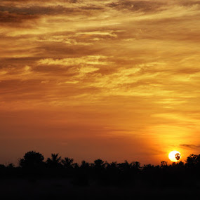 by Akash Kumar - Novices Only Landscapes ( sun rise )