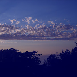 Clouds heralding a new morning. by Tracy Borges - Landscapes Cloud Formations