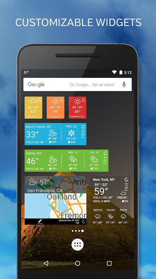 Weather Underground: Forecasts Screenshot 7
