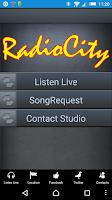 Screenshot of Radio City 1386AM (2.2+)