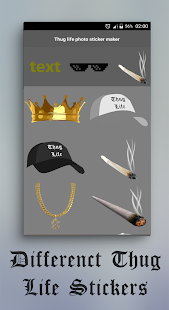 Thug life photo sticker maker APK for Lenovo