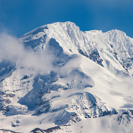 Untitled Alaska by Kelly Maize - Landscapes Mountains & Hills ( mountain, snow, alaska, mountain range, clouds, landscape )