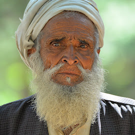 Old man by Abrar Rafiq - People Portraits of Men ( old, age, poor, helpless, man )
